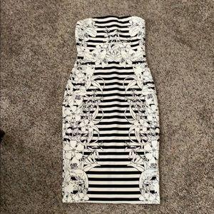 Strapless Express dress, size 4